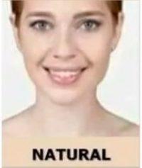 Tonos de maquillaje seytu natural